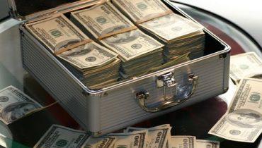 Billets de banque porte chance